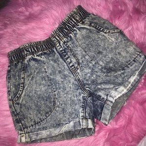 vintage denim short 🧩